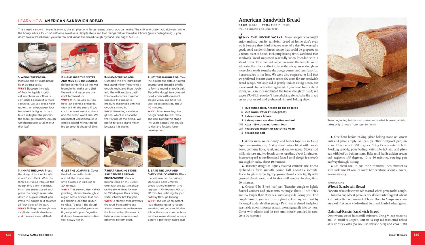 Inside the Book – The America\'s Test Kitchen New Family Cookbook