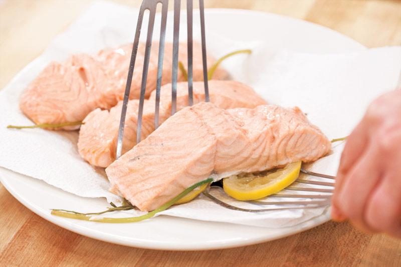 America S Test Kitchen Poached Salmon